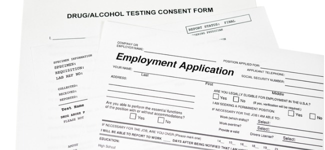 Medical marijuana patients and job applications
