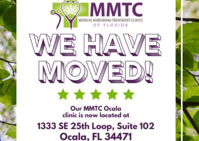 October Address Change Ocala MMTC